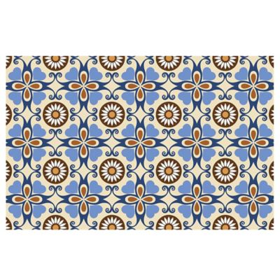 The Softer Side by Weather Guard™ 25-Inch x 60-Inch Adelina Tile Kitchen Runner