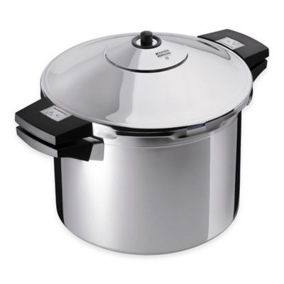 Kuhn Rikon Duromatic 8 qt. Stainless Steel Stock Pot Pressure Cooker