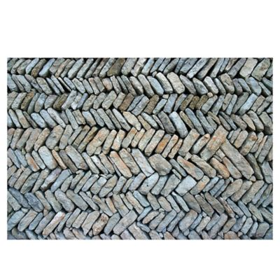 The Softer Side by Weather Guard™ Herringbone Path 18-Inch x 27-Inch Kitchen Mat