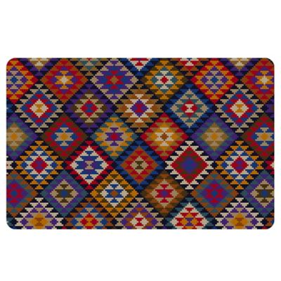 The Softer Side by Weather Guard™ 23-Inchg x 26-Inch Kilim Blanket Kitchen Mat