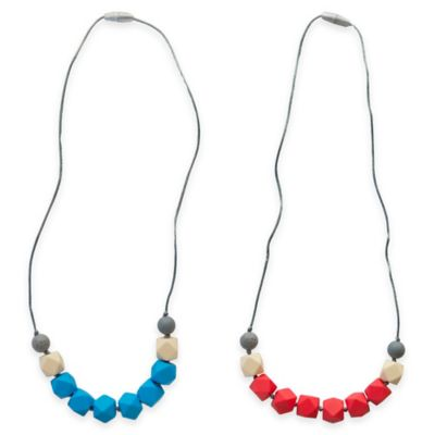 Coral Teething Necklaces