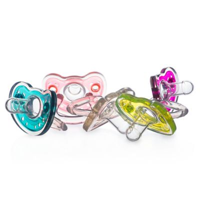 Joovy® SiliNoogie 2-Pack Pacifier in Clear