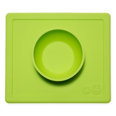 ezpz Happy Bowl Placemat in Lime