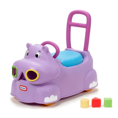 Little Tikes® Scoot Around Hippo in Purple