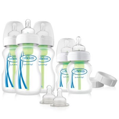 Bottle Feeding > Dr. Brown's® Options Wide Neck Newborn Feeding Set