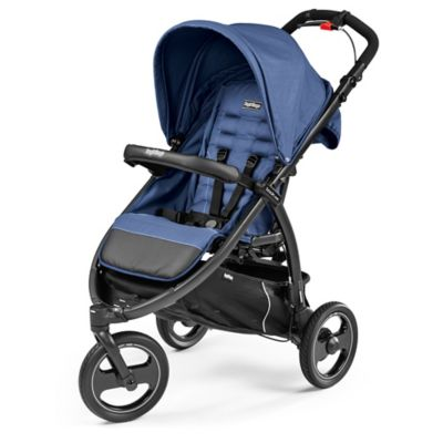 Peg Perego Book Cross Stroller in Mod Bluette