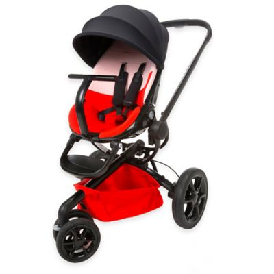Quinny® Bold Block Moodd Stroller in Black/Red