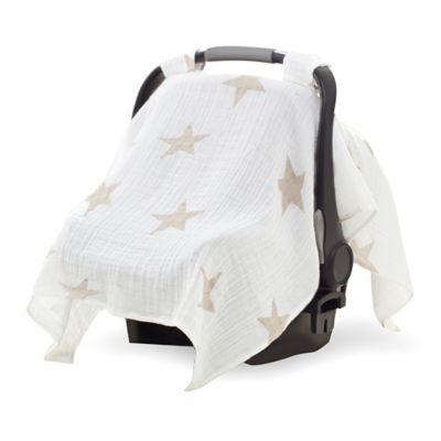aden® by aden + anais® Car Seat Canopy in Super Star Scout