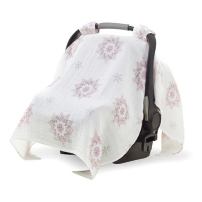 aden® by aden + anais® Car Seat Canopy in For the Birds