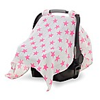 aden® by aden + anais® Car Seat Canopy in Fluro Pink