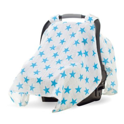 aden® by aden + anais® Car Seat Canopy in Fluro Blue