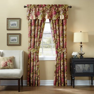 Buy Waverly 174 Floral Flourish Cordial Window Valance From