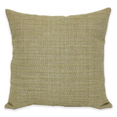 Tan Green Decorative Pillows