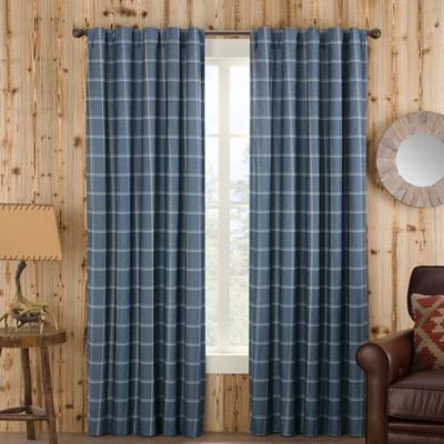 Cotton Plaid Window Panels