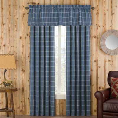 Branklyn Plaid Valance in Natural