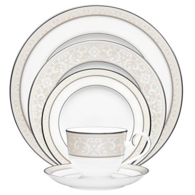 Noritake® Montvale Platinum 5-Piece Place Setting