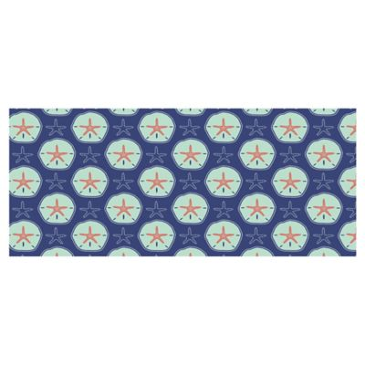 The Softer Side by Weather Guard™ 25-Inch x 60-Inch Clairebella Sand Dollars Kitchen Runner