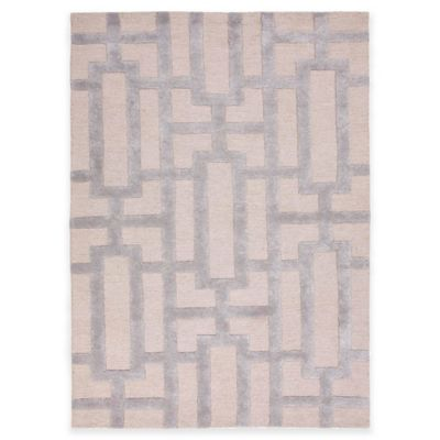 Jaipur City Dallas 3-Foot 6-Inch x 5-Foot 6-Inch Area Rug in Ivory/Silver