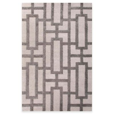 Jaipur City Dallas 9-Foot 6-Inch x 13-Foot 6-Inch Area Rug in Ivory/Grey