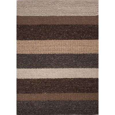 Jaipur Casco Shelton by Rug Republic 8-Foot x 10-Foot Area Rug in Brown/Grey