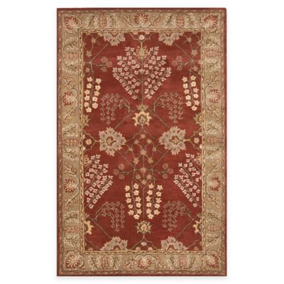 Jaipur Poeme Collection Chambery 9-Foot x 12-Foot Area Rug in Blue/Brown