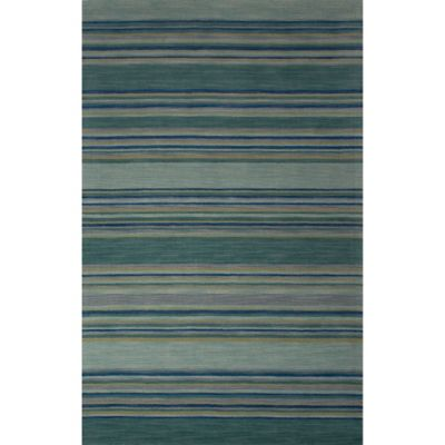 Blue Stripe Area Rugs