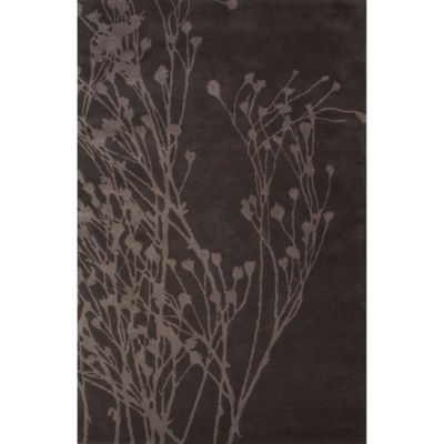 Jaipur Shadow Khousa 5-Foot x 8-Foot Area Rug in Grey