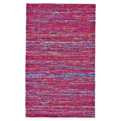 Feizy Kerala 1-Foot 8-Inch x 2-Foot 10-Inch Accent Rug in Fuchsia