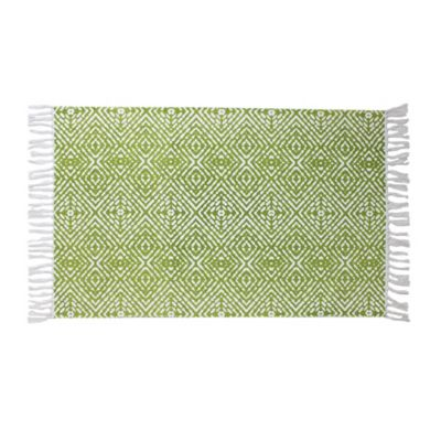 Thro 2-Foot x 3-Foot Anders Accent Rug in Citron