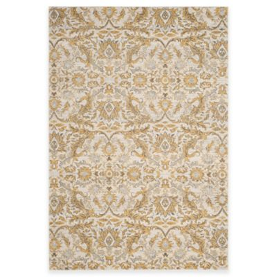 Safavieh Evoke Collection Grove 8-Foot x 10-Foot Area Rug in Ivory/Gold