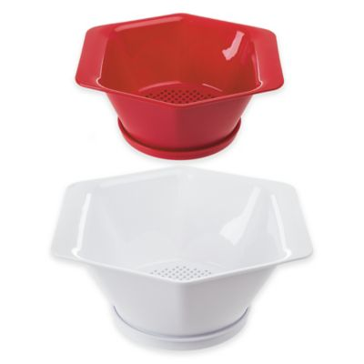 2-Piece Drip Catch Colanders