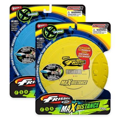 Wham-O Max Distance Frisbee in Yellow