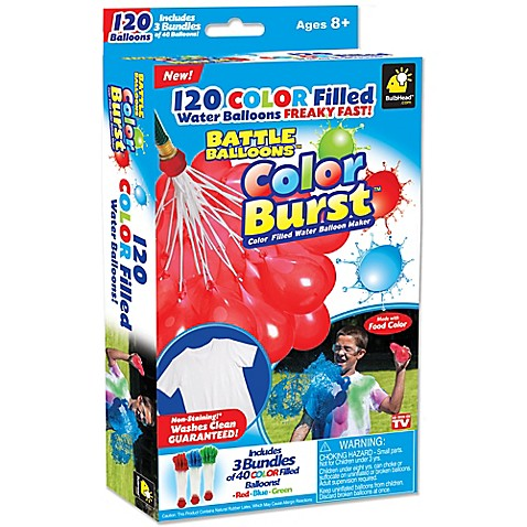 As Seen On Tv Water Balloons Bed Bath And Beyond