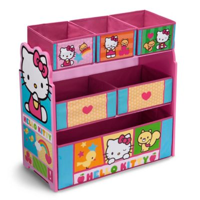 Hello Kitty® Toy Organizer with Storage Bins in Pink