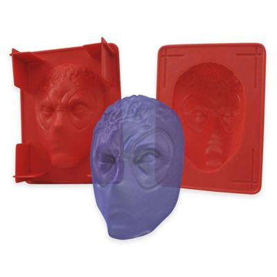 Marvel® Deadlpool Head Gelatin Mold