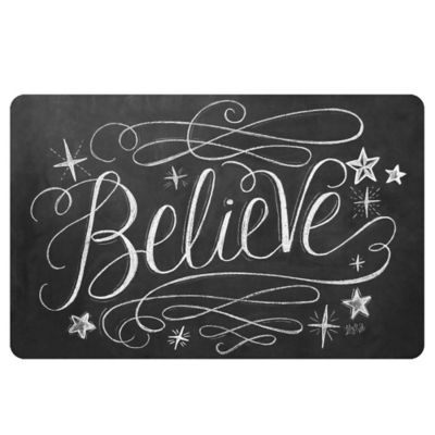 The Softer Side by Weather Guard™ 23-Inch x 36-Inch Believe Kitchen Mat