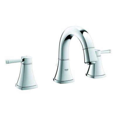 Grohe Grandera 2-Handle Widespread Bathroom Faucet in Starlight Chrome
