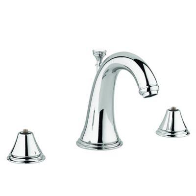 Grohe Geneva 2-Handle Widespread Bathroom Faucet in Brushed Nickel