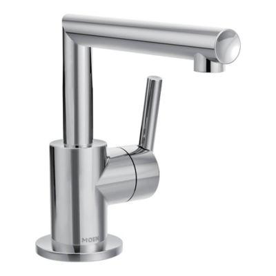 Moen® Arris 1-Handle High Arc Single Hole Bathroom Faucet in Chrome