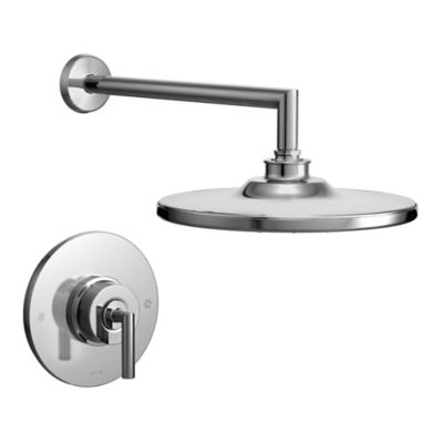 Moen® Arris 1-Handle Wall Mount Shower Faucet in Chrome