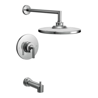 Moen® Arris 1-Handle Wall Mount Tub and Shower Faucet in Chrome
