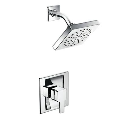 Moen® 90-Degree 1-Handle Wall Mount Bathroom Shower Faucet in Chrome