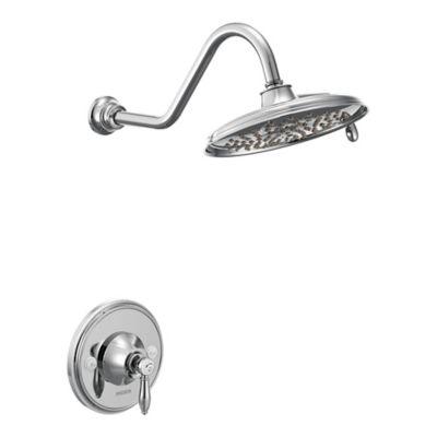 Moen® Waymouth 1-Handle Wall Mount Shower Faucet in Brushed Nickel