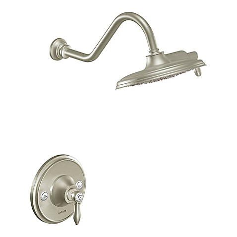 Buy Moen Waymouth 1 Handle Wall Mount Shower Faucet In Brushed Nickel From Bed Bath Beyond