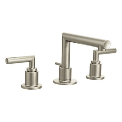 Moen® Arris 2-Handle Bathroom Faucet in Brushed Nickel