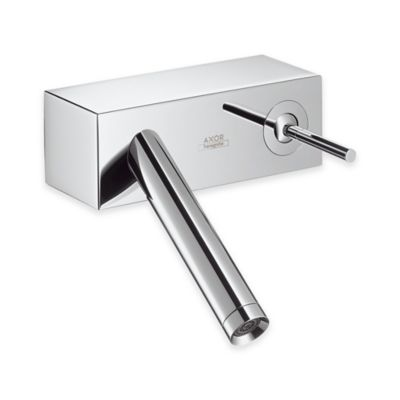 Hansgrohe Axor Starck X Wall Mount Single Handle Bathroom Faucet in Chrome