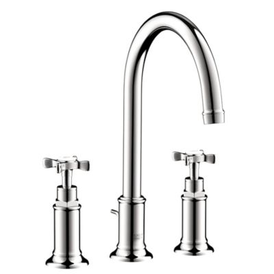 Hansgrohe Axor Montreux 2-Handle Cross 7-Inch Bathroom Faucet in Chrome