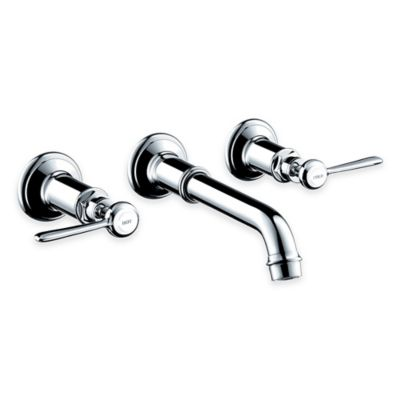 Hansgrohe Axor Montreux 2-Handle Wall-Mount Bathroom Faucet in Chrome