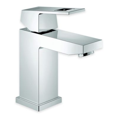 Grohe Geocube Centerset Bathroom Faucet in Starlight Chrome