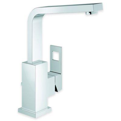 Grohe Geocube Centerset Single Lever Bathroom Faucet in Starlight Chrome